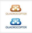 Abstract of sign for Quadrocopter vector image vector image