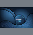abstract tosca blue background with dynamic shape vector image vector image