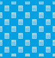 electronic calculator pattern seamless blue vector image vector image