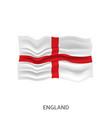flag england vector image vector image