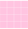 Grid Square Pink Background vector image
