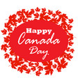 happy canada day poster canada maple leave