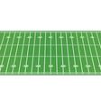 american football field vector image vector image