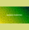 business marketing banner vector image vector image