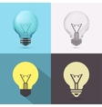 Isolated Bulb vector image vector image