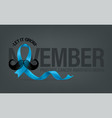 prostate cancer awareness month concept vector image