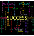 Success background vector image vector image