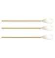 Cotton buds vector image