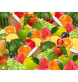 fruity ripe juicy background vector image vector image