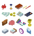 icons for business vector image vector image