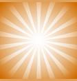 monochrome sunburst background radial lines vector image