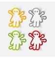 realistic design element voodoo Doll vector image vector image