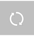 rotation arrows computer symbol vector image vector image