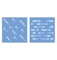 Texture for platformers pixel art - water vector image vector image