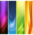 vertical banner vector image vector image