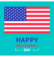 independence day United states of America vector image