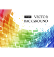 Abstract geometric curve background vector image
