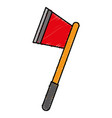ax weapon icon vector image