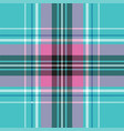 bablue pink pastel color plaid seamless vector image vector image