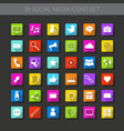 buttons set icons application interface logo vector image