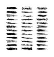 collection 36 black dirty design element vector image