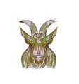 ethnic goat vector image vector image