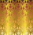 Gold Elegant Stylish Abstract Floral Wallpaper vector image vector image