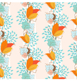 Ivy seamless pattern vector image vector image
