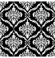 Ornate damask seamless pattern design vector image vector image