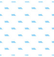 quiet waves icon simple style vector image vector image