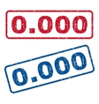 0000 Rubber Stamps vector image vector image