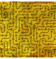 Electronic circuit board vector image vector image