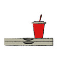 fast food icon image vector image vector image