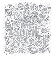 give me some space vector image vector image