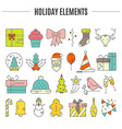 Holiday Clipart vector image vector image