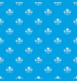 ironing pattern seamless blue vector image vector image
