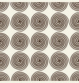 monochrome stylish abstract seamless repetition vector image