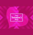 pink valentine background beautiful elegant vector image