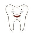 teeth healthcare dental icon vector image vector image