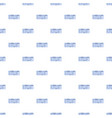 ticket pattern seamless vector image vector image
