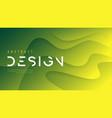 abstract wavy background trendy minimalist vector image vector image