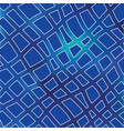 blue grid mosaic background creative vector image vector image