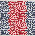 brush strokes seamless pattern vector image