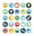 Business and SEO Icons 1 vector image vector image