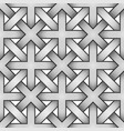 celtic seamless pattern - engraved vector image vector image