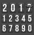 creative of countdown timer vector image