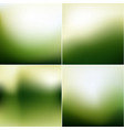 smooth natural backgrounds collection vector image vector image