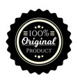 vintage badge premium design element original vector image vector image