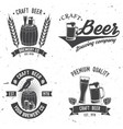 Vintage design for bar pub and restaurant vector image