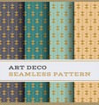 art deco seamless pattern 49 vector image vector image